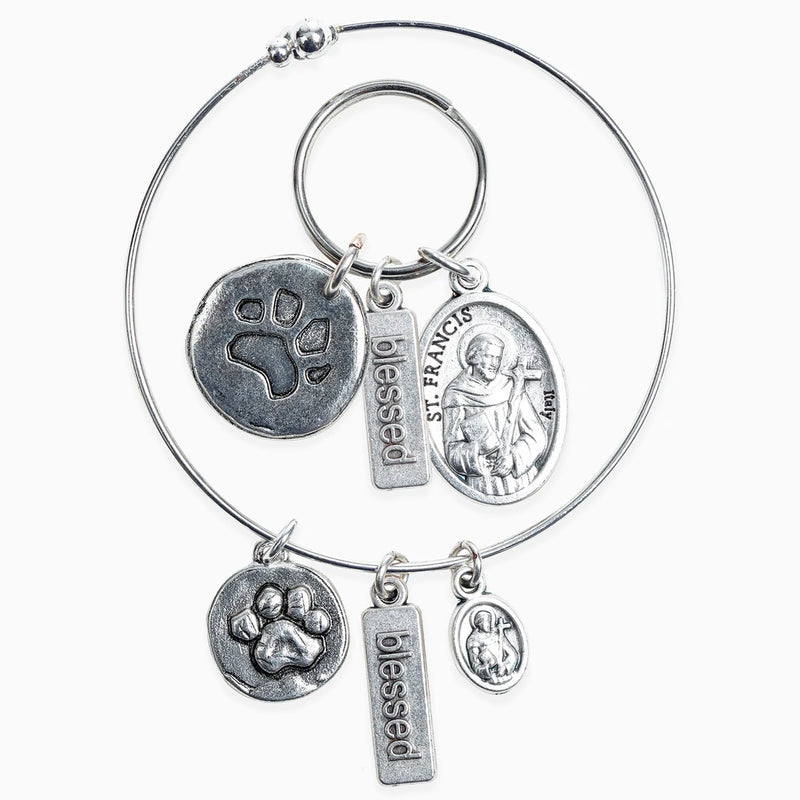 Pet Blessings Bracelet & Pet Tag Set