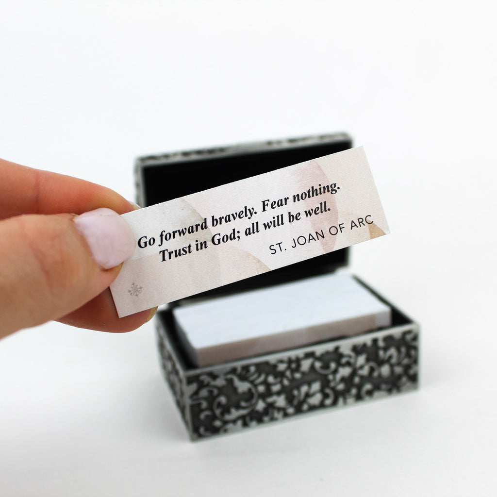 Daily Blessings Box - Saint Quotes