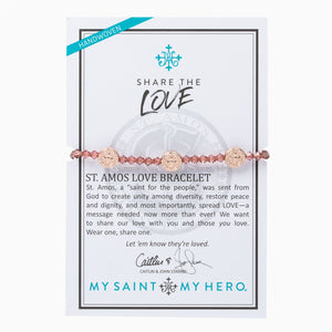 Share the Love Crystal Bracelet