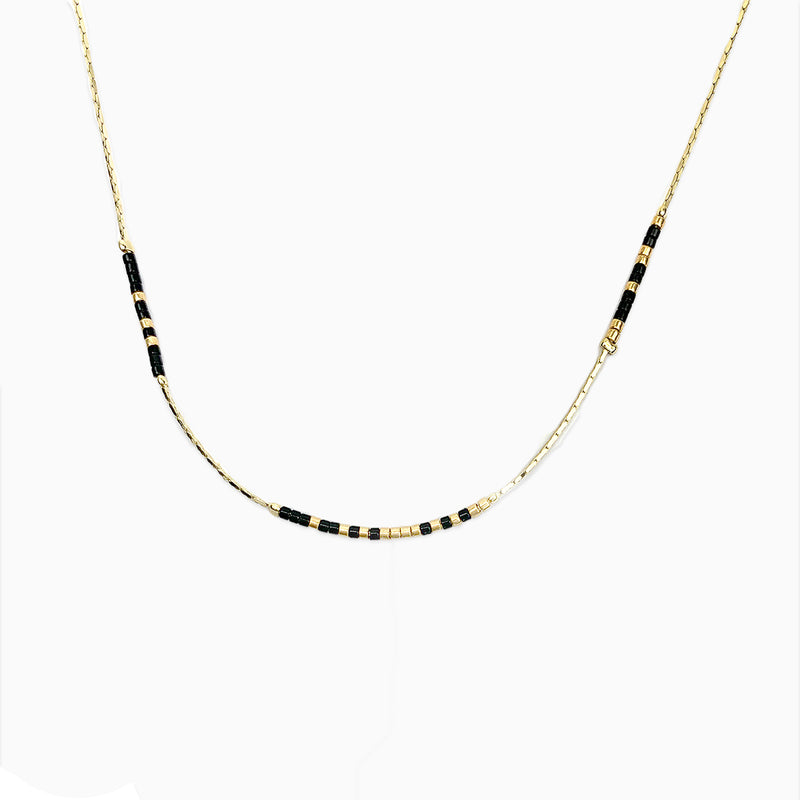 Saints Geaux! Victory Morse Code Necklace