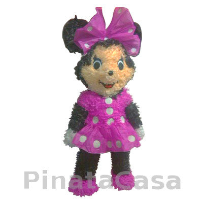 Pink Minnie Mouse Pinata