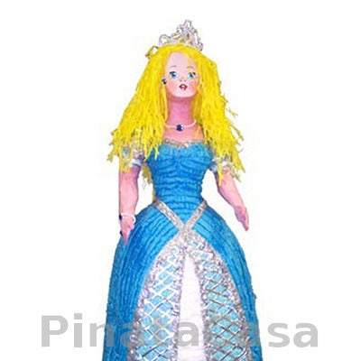 Princess Pinata - Blue