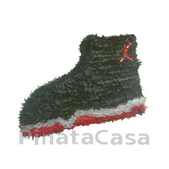 Black Air Jordan Shoe Pinata