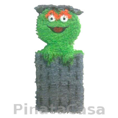 Oscar the Grouch Pinata