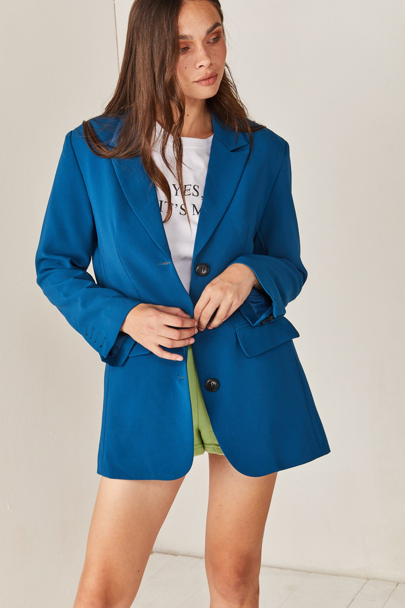 My Blue Blazer