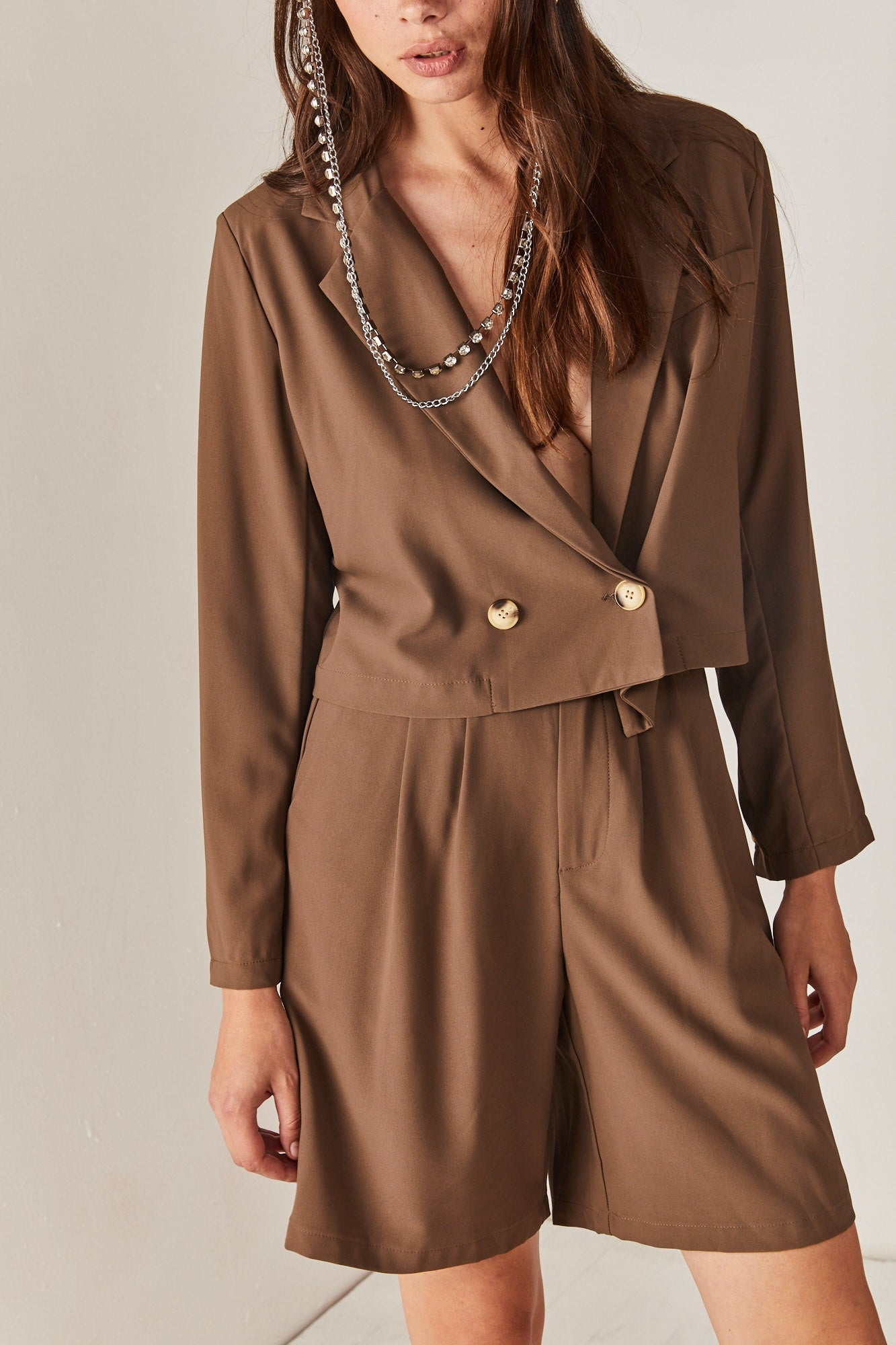 Brown Safari Jacket
