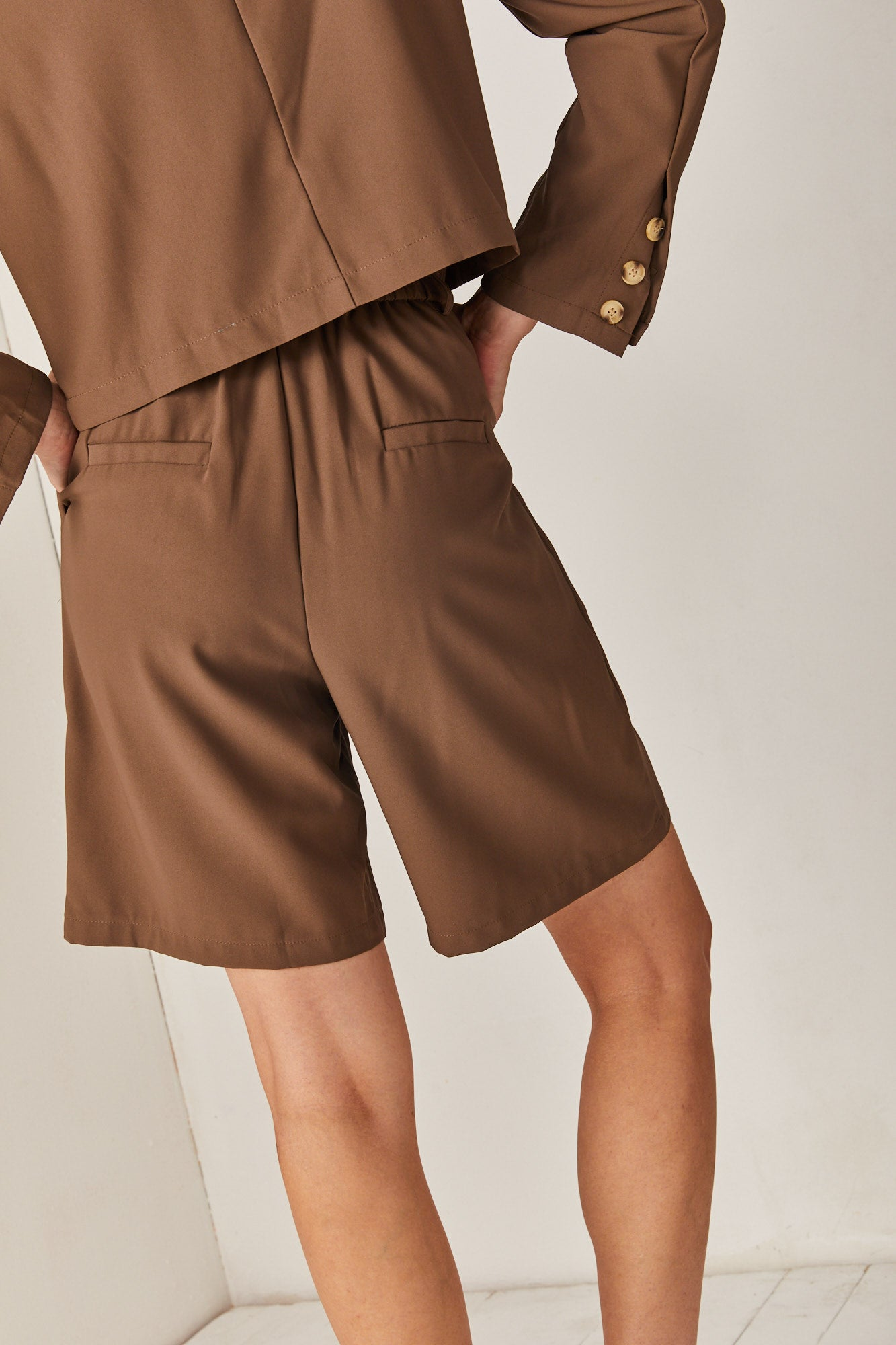 Brown Safari Pants