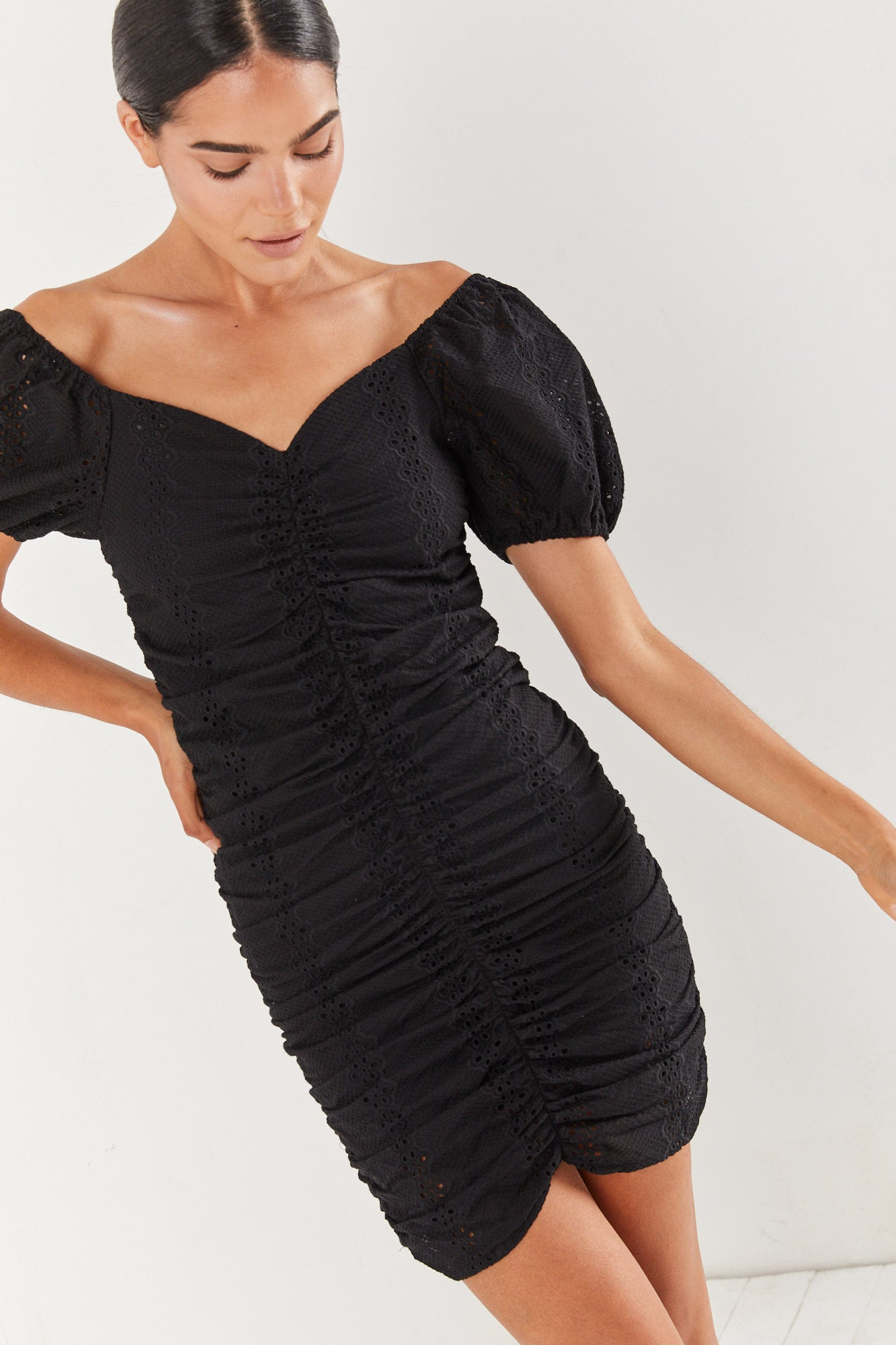 Perfect Lace Dress - Black