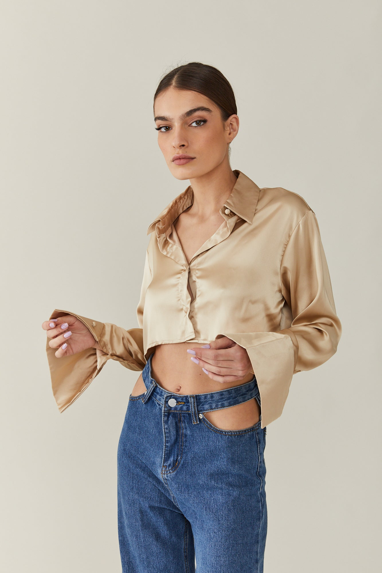 Silky Perfect Crop Top