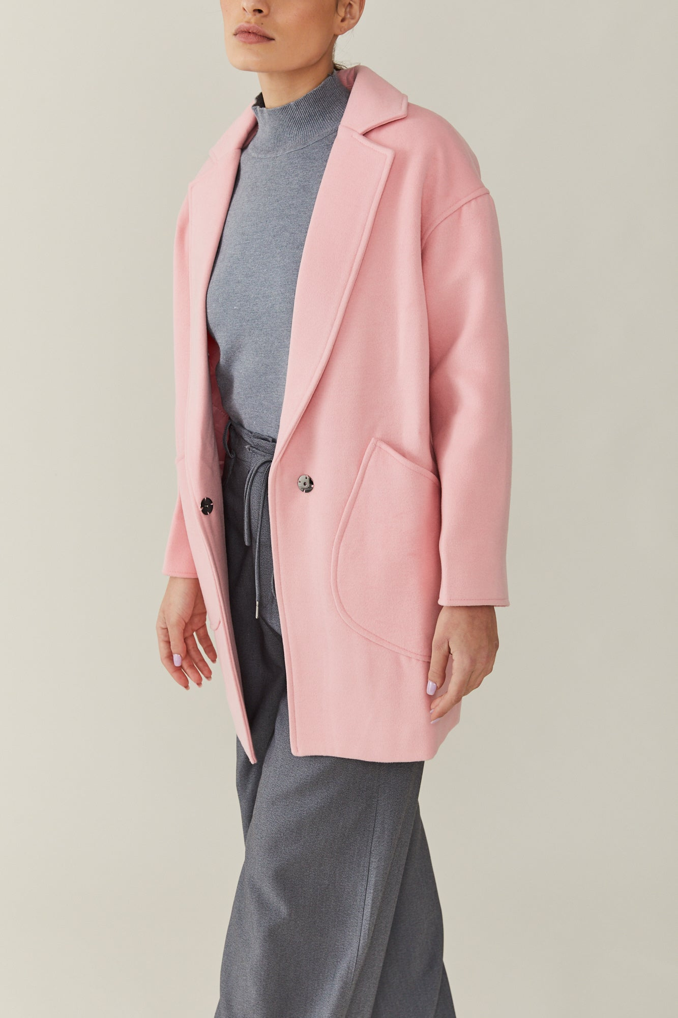 Josefine Pink Coat