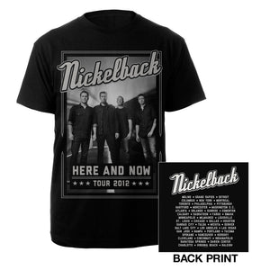 Nickelback Here And Now Tour Tee