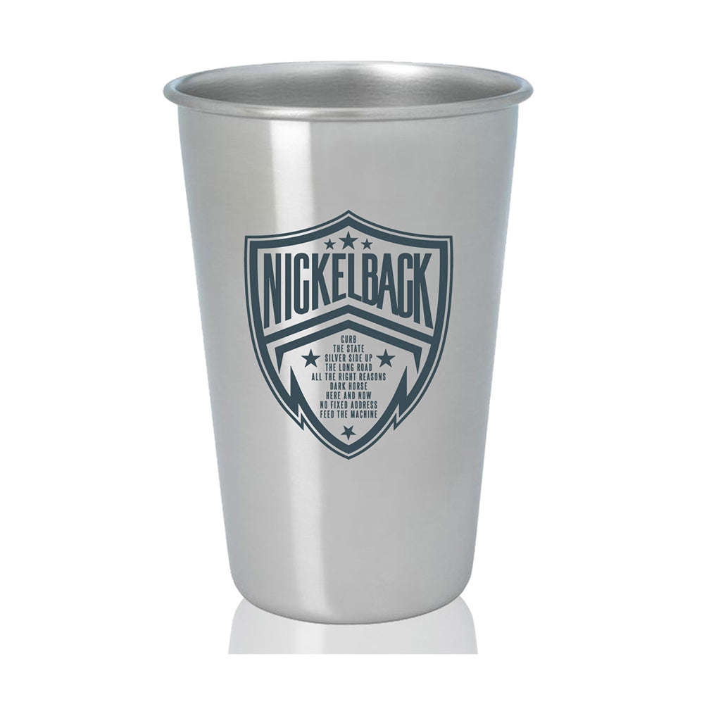 Nickelback Metallic Pint Glass