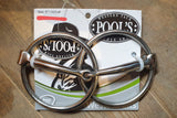 O-ring snaffle bit inserts Pool's T125/130