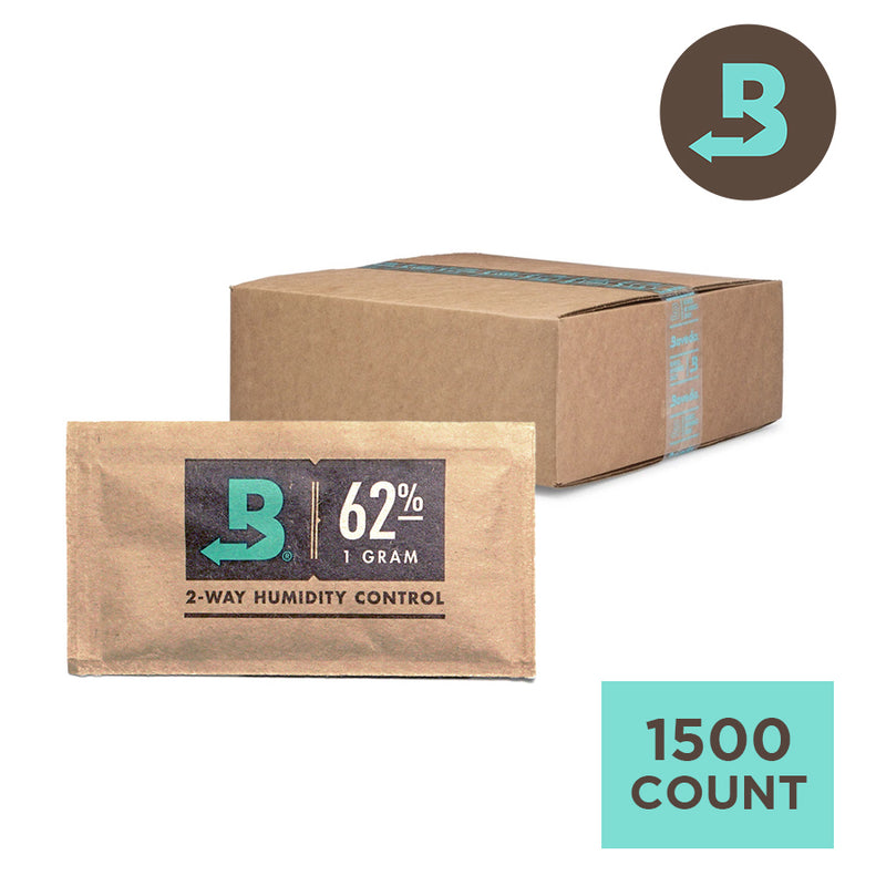 Boveda 62% 1g Square - Carton of 1500