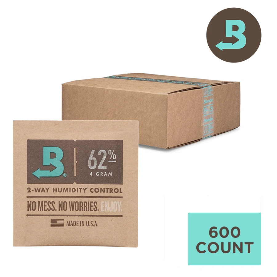 Boveda 58% 4g - Individually Wrapped Bulk - Carton of 600