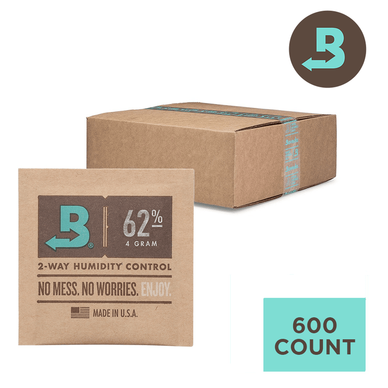 Boveda 62% 4g - Unwrapped Bulk - Carton of 600