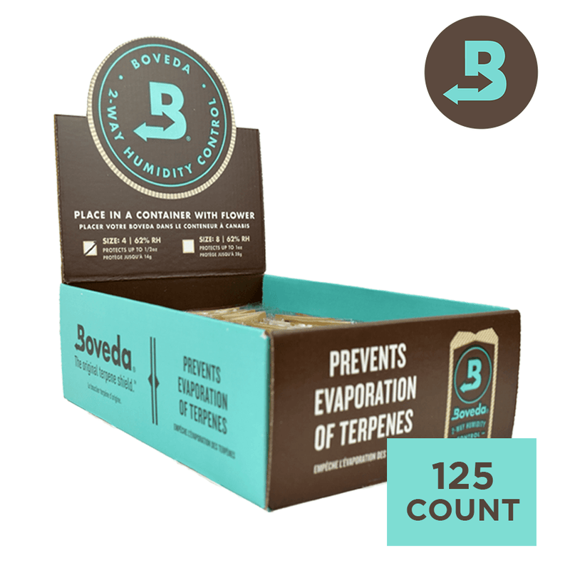 Boveda 62%RH (4 GRAM) - Carton of 125 Packs
