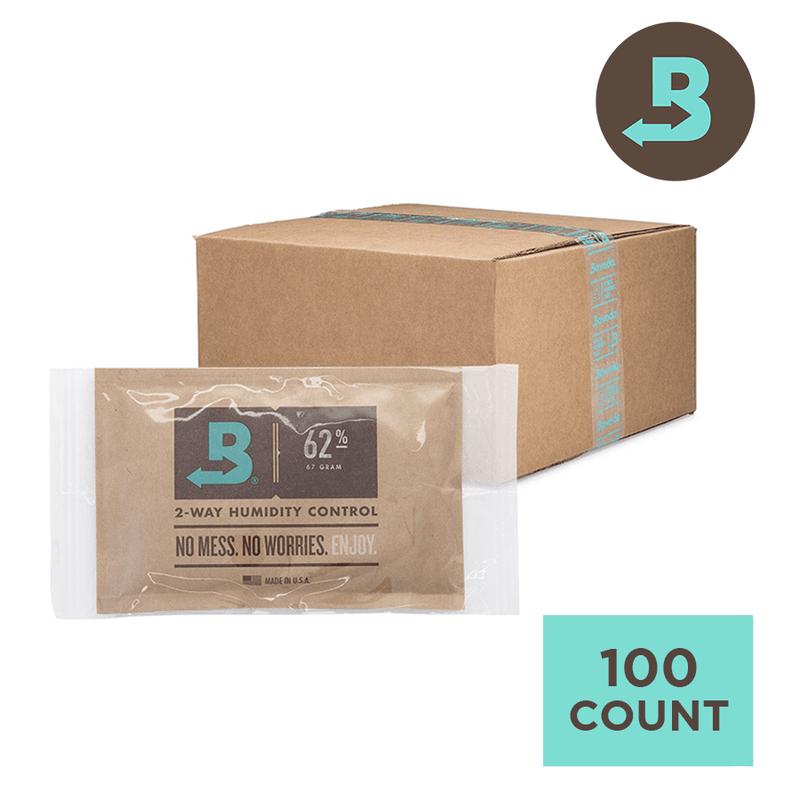 Boveda 62% 67g - Individually Wrapped Carton of 100