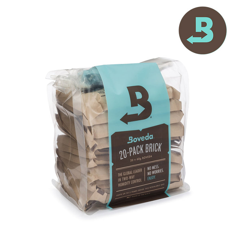 Boveda 62% 67g - 20 Pack Brick (Unwrapped)