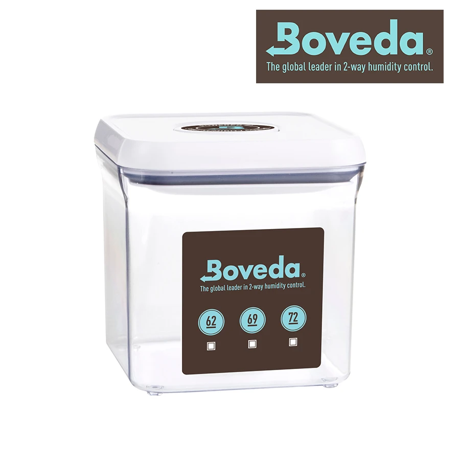 Boveda 2.4 qt Display Container