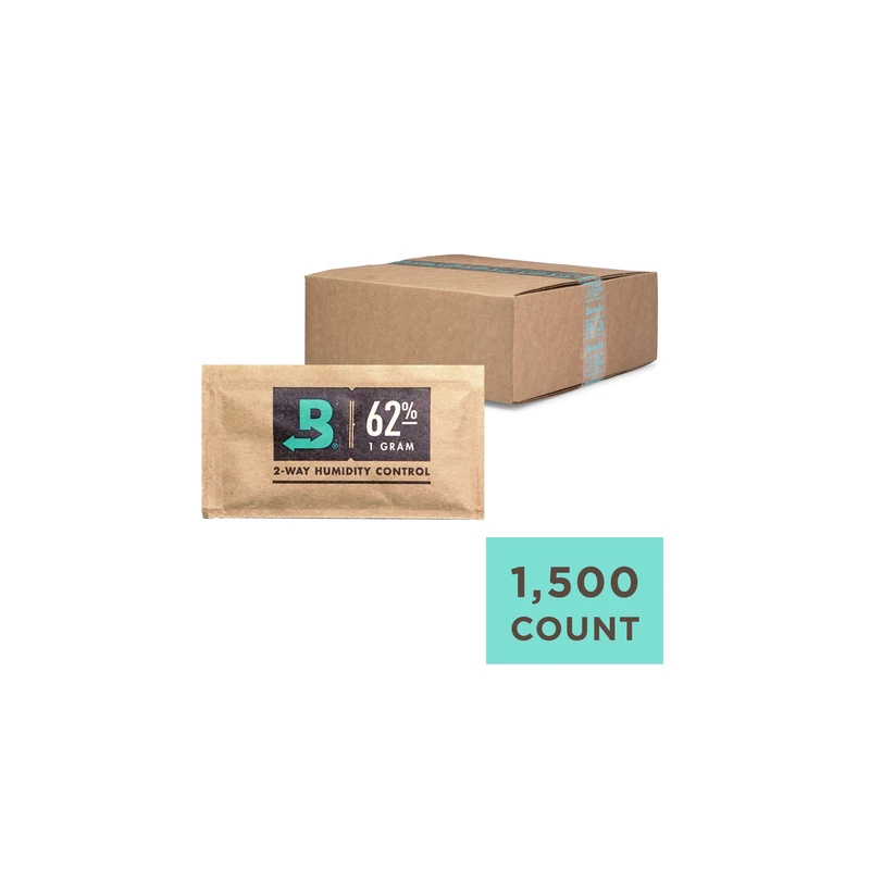 Boveda 62% 1g Slim - Individually Wrapped - Carton of 1500