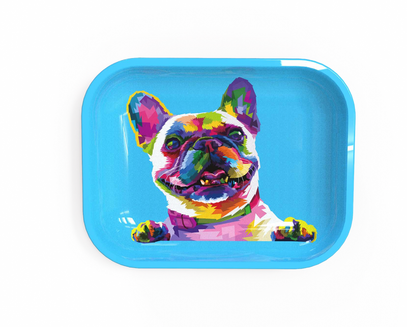 Medium Rolling Tray - Dog