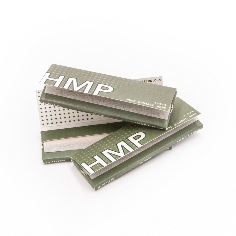 HMP Organic Hemp Box - 1.25 - Carton of 25 Booklets