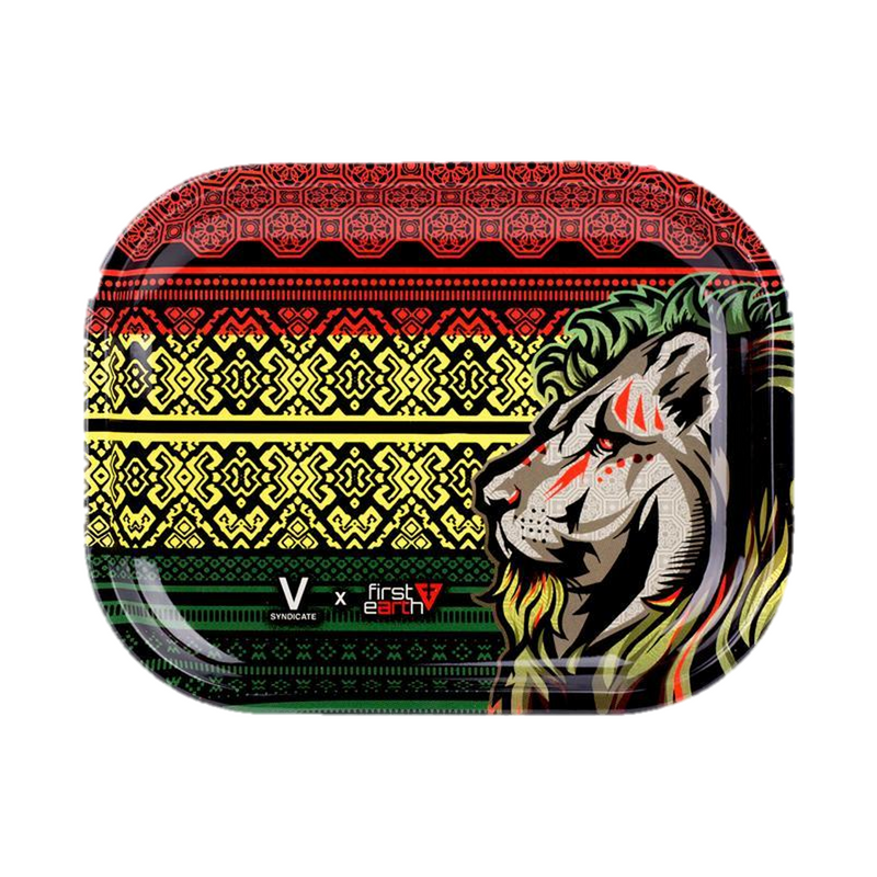 Medium Rolling Tray - Lion First Earth