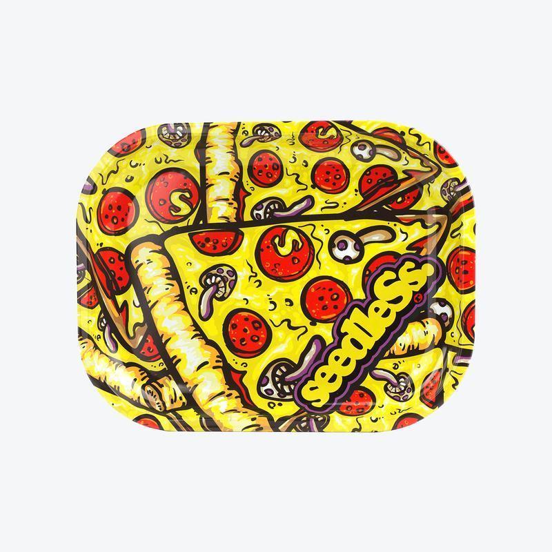 Small Rolling Tray - Pizza Seedless