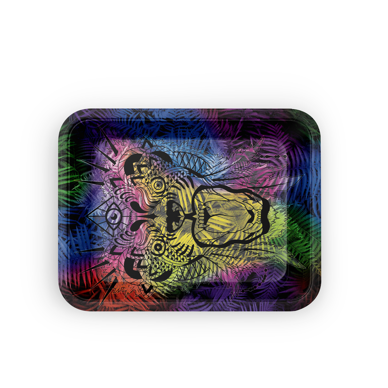 Medium Rolling Tray - Jungle