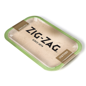 Zig-Zag Metal Rolling Tray - Medium - Since 1879 (Organic)