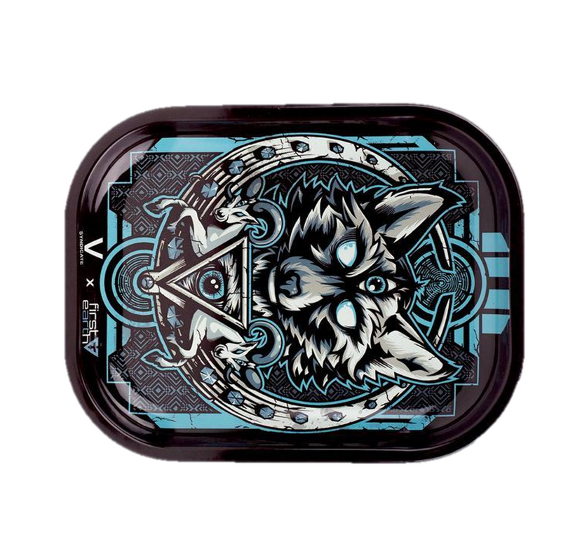 Medium Rolling Tray - Wolf First Earth