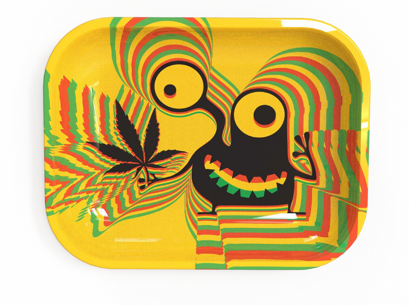 Small Rolling Tray - Weed