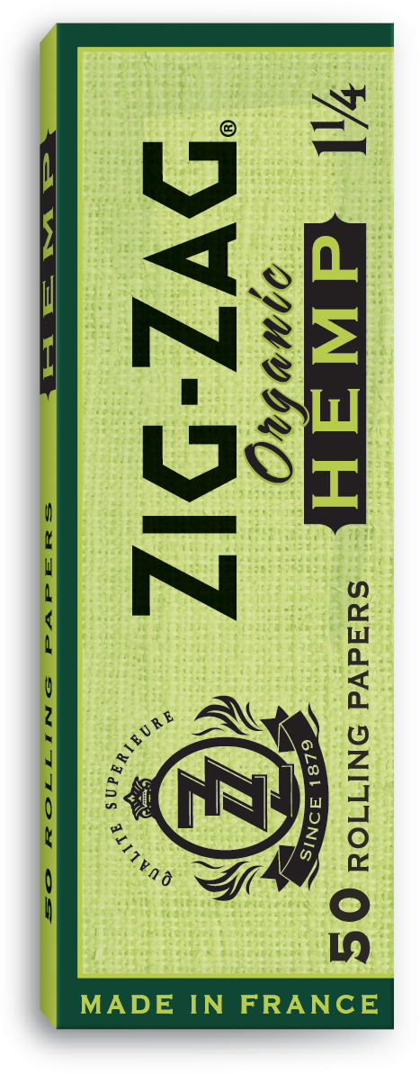 Zig Zag Hemp 1 1/4 Papers