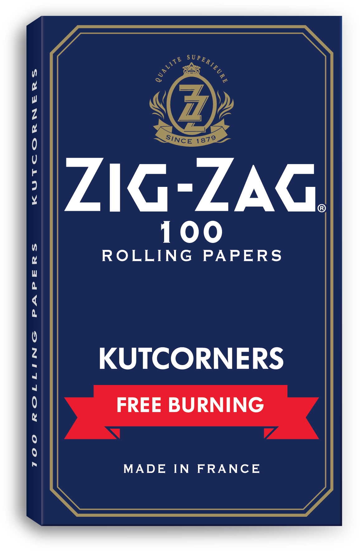 Zig Zag Blue Papers