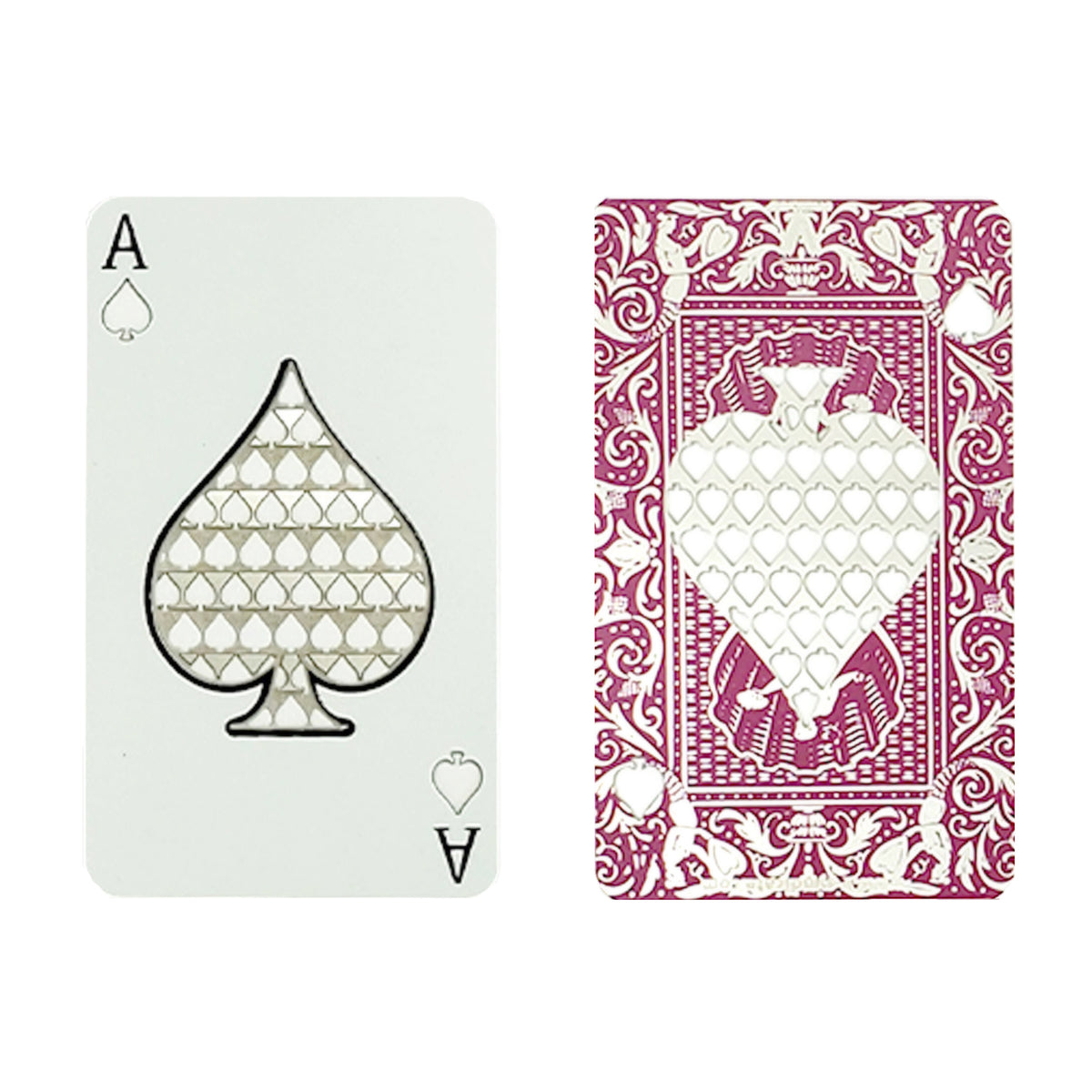 Color Grinder Card Ace of Spades