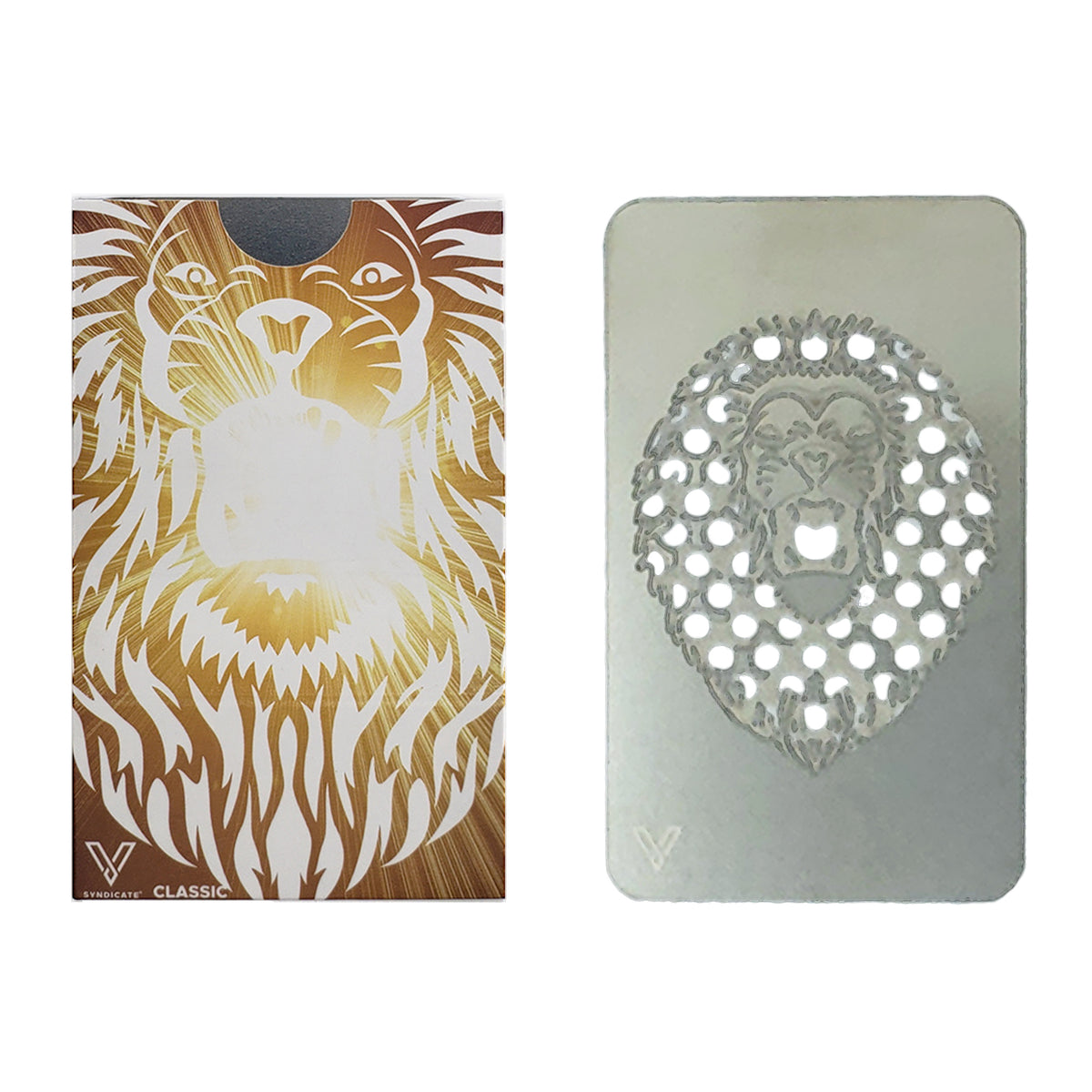 Colour Grinder Card Roaring Lion