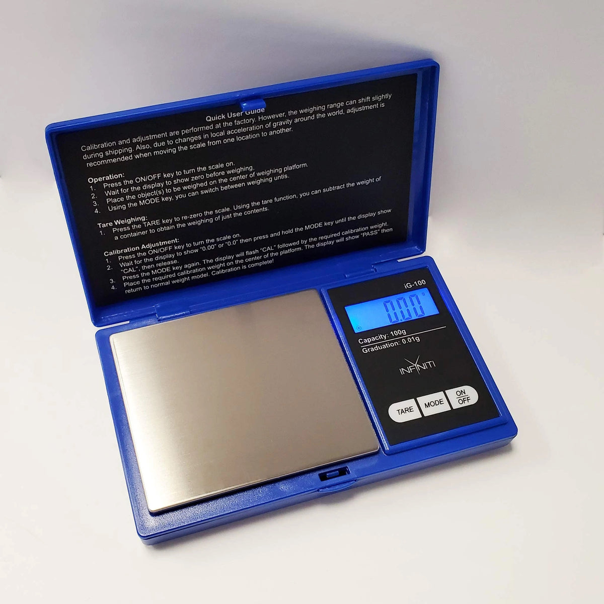 Infyniti Scales - G-Force Digital - 100g x 0.01g (Blue)