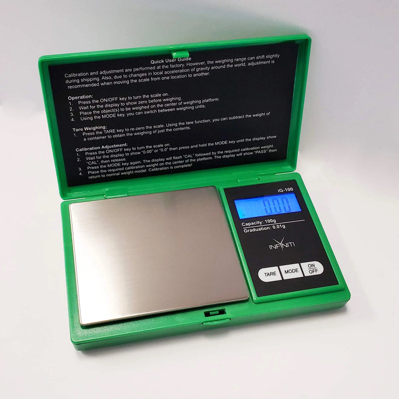 Infyniti Scales - G-Force Digital - 100g x 0.01g (Green)