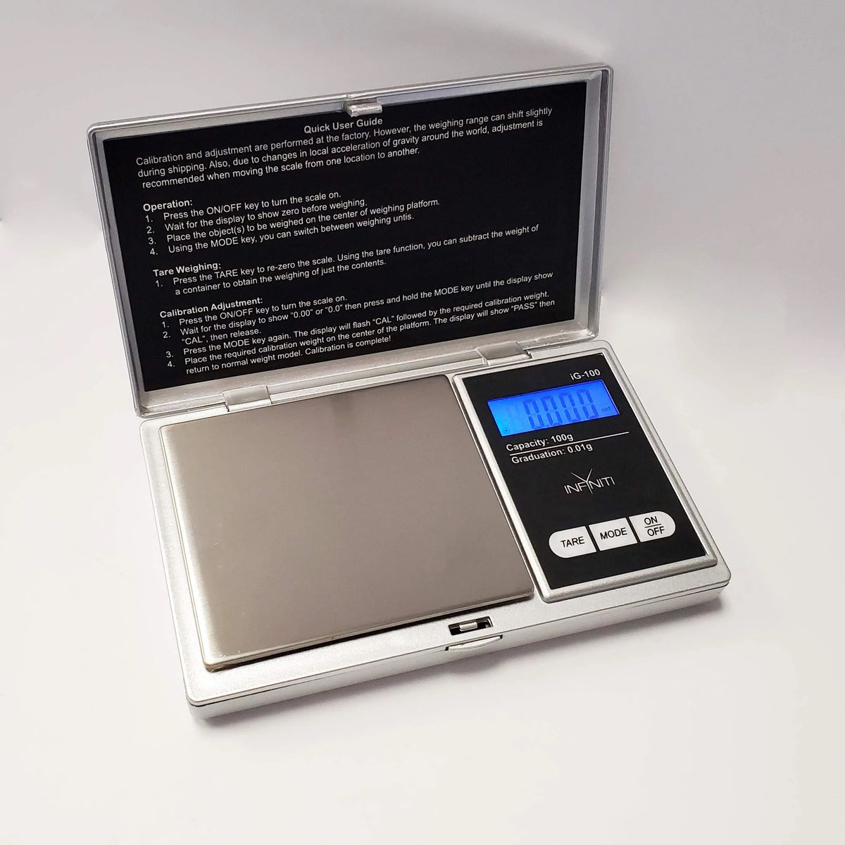 Infyniti Scales - G-Force Digital - 100g x 0.01g (Silver)