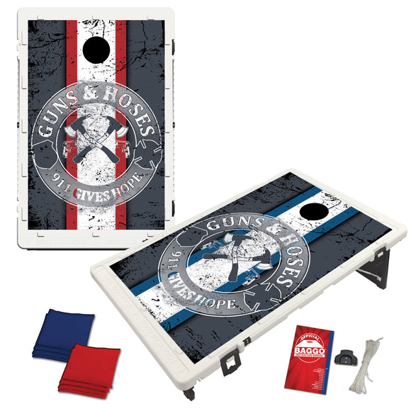 Guns & Hoses Baggo Set (Retro Guns & Hoses Logo)