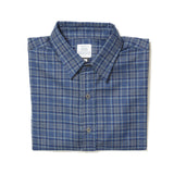 BLUE PLAID LONG SLEEVE DAILY DRIVER