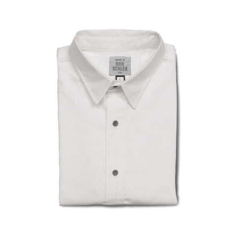 SALE! WHITE OXFORD SHORT SLEEVE DAILY DRIVER