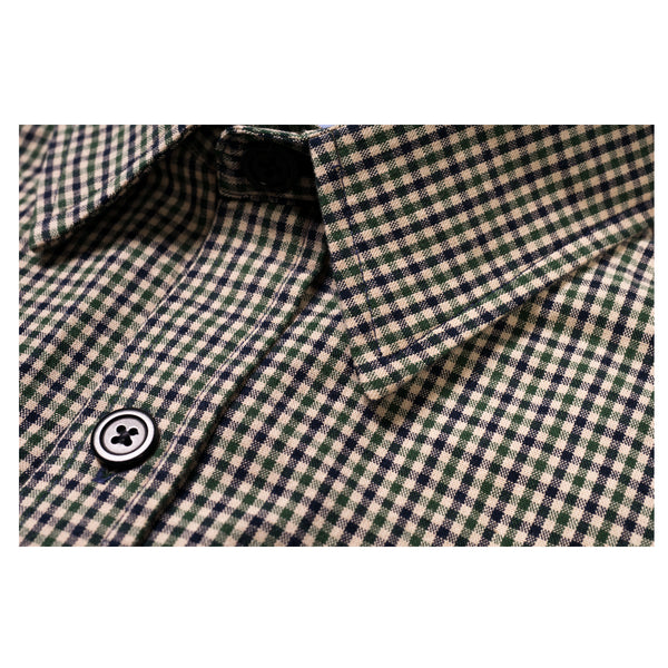 NEW! GREEN CHECK WORK SHIRT