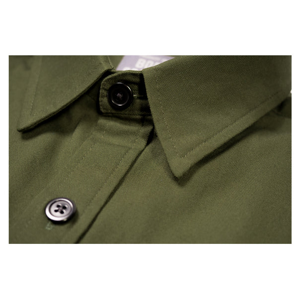 NEW! DARK GREEN WORK SHIRT