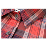 NEW! WOMEN'S PLAID POP-OVER SHIRT