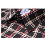 BLACK PLAID SHORT SLEEVE DAILY DRIVER