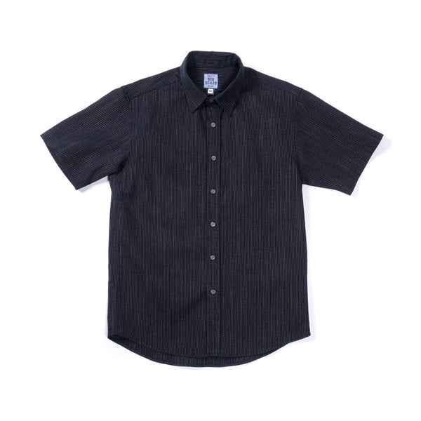WOVEN TICK STRIPE SHORT SLEEVE DAILY DRIVER