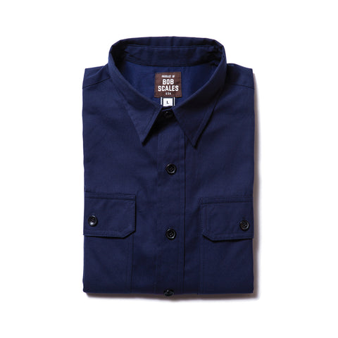 NAVY BLUE WORK SHIRT
