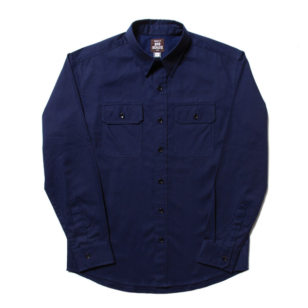 BACK IN STOCK! NAVY BLUE WORK SHIRT